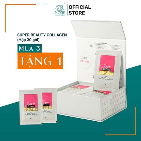 Mua 3 Tặng 1 Super Beauty Collagen (30 Gói)